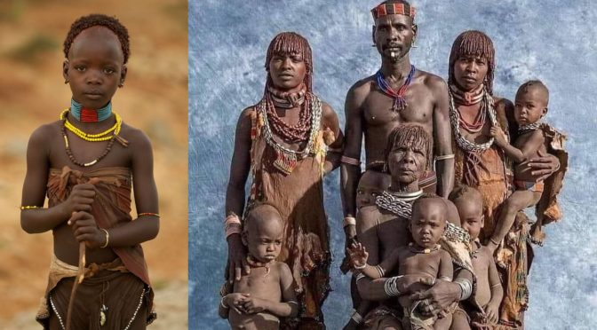 "The Hamar, untouched tribe from ""never colonized"" country, Ethiopia"
