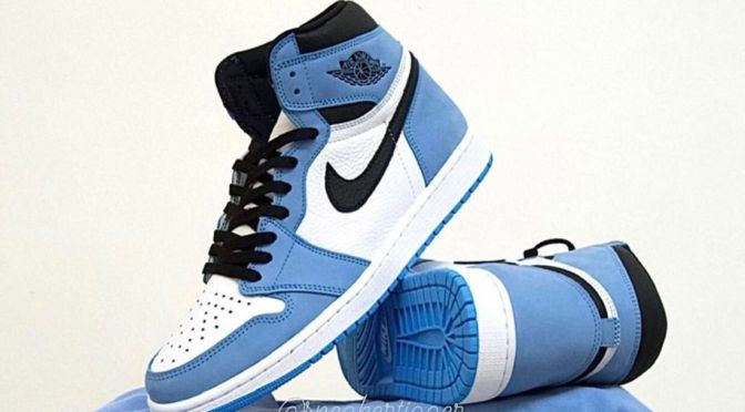 Best Look Yet at the 'University Blue' Air Jordan 1 High