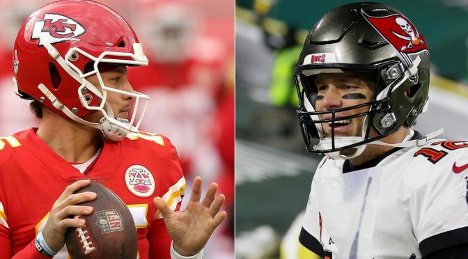 TONY ROMO: TOM BRADY VS. PATRICK MAHOMES AT SUPER BOWL LV IS LIKE 'LEBRON AND JORDAN' IN NBA FINALS