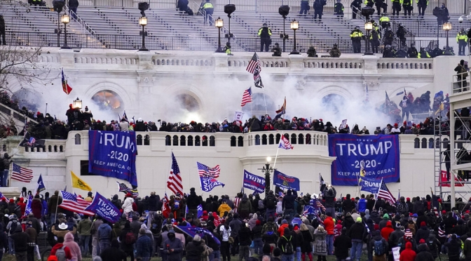 New Footage From U.S. Capitol Attack Shows Rioters Say 'We Are Listening to Trump'