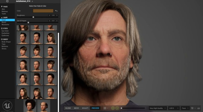 Meet the eerily realistic digital people made with Epic's MetaHuman Creator