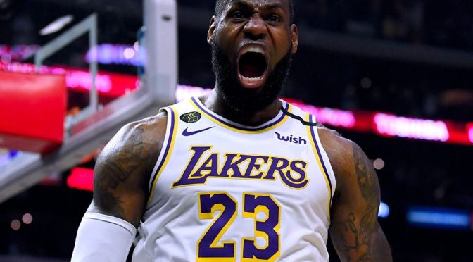 LeBron James Surpasses 35,000 NBA Points Milestone