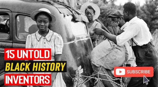 Black History Month facts: 15 UNTOLD BLACK Inventors