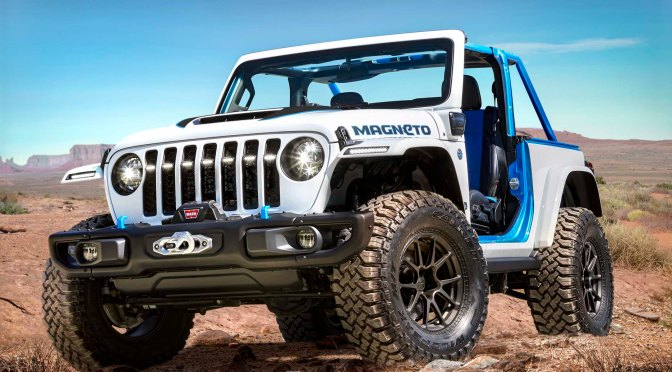 JEEP GOES ELECTRIC WITH MAGNETO CONCEPT