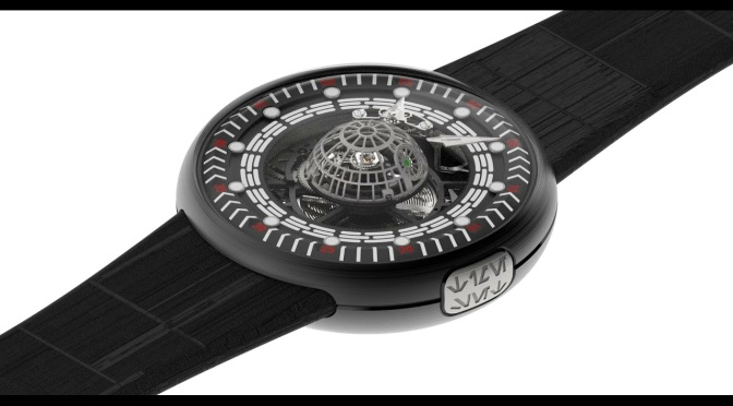 COME TO THE DARK SIDE WITH THIS $150K DEATH STAR WATCH