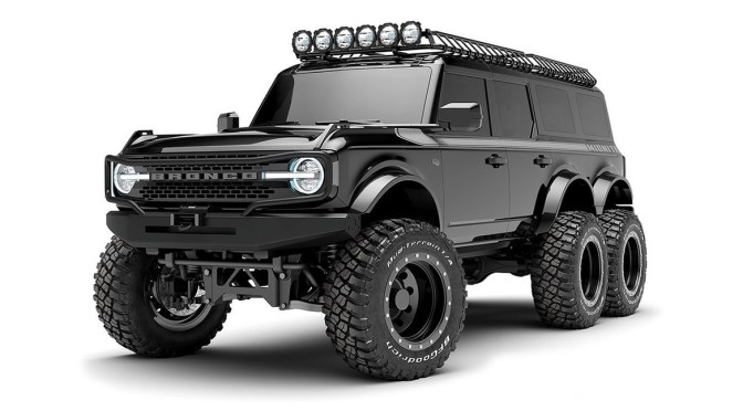 THIS INSANE CUSTOM FORD BRONCO 6X6 IS COMING IN 2022