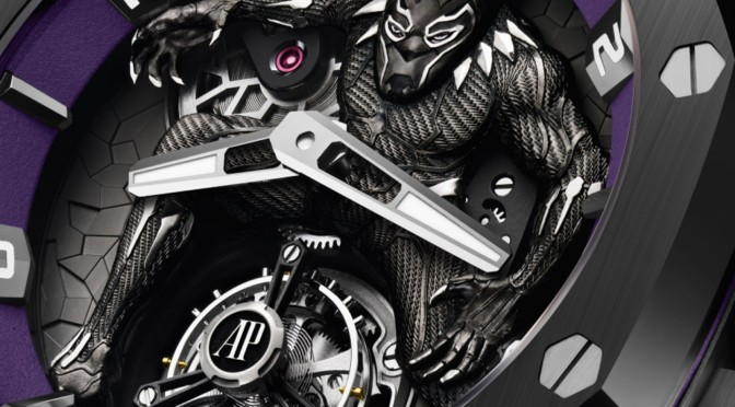 AUDEMARS PIGUET TEAMS WITH MARVEL FOR $161,000 'BLACK PANTHER' WATCH
