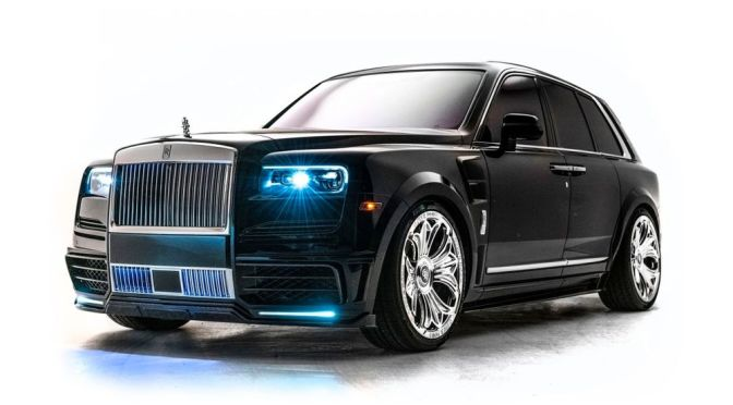 Take a Closer Look at Drake's One-of-One Chrome Hearts Rolls-Royce Cullinan