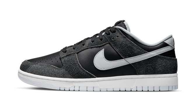 """Nike Expands the Dunk Low """"Animal"""" Pack With This Stark Black and Gray Style"""
