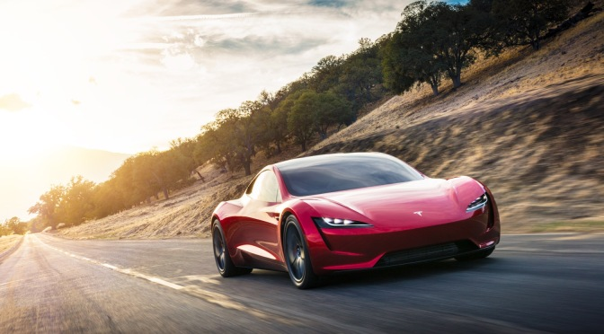 TESLA ROADSTER WILL HIT 60 MPH IN JUST 1.1 SECONDS, SAYS ELON MUSK