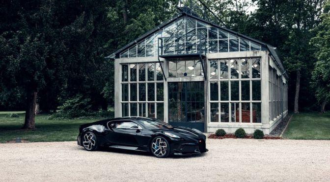 """Bugatti Reveals Final Version of the $13.4 Million USD """"La Voiture Noire"""""""