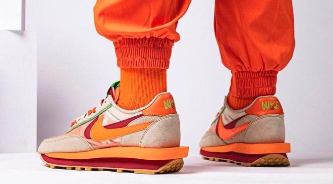 Take A Look at the CLOT x sacai x Nike LDWaffle