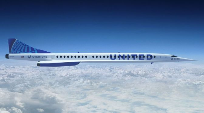 United Airlines Is Buying 15 Supersonic Jets That Can Get From Newark to London in 3.5 Hours