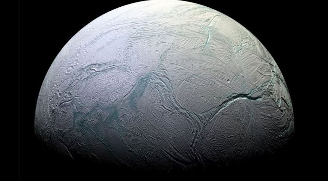 Methane in the Plumes of Saturn's Moon Could Be a Sign of Alien Life
