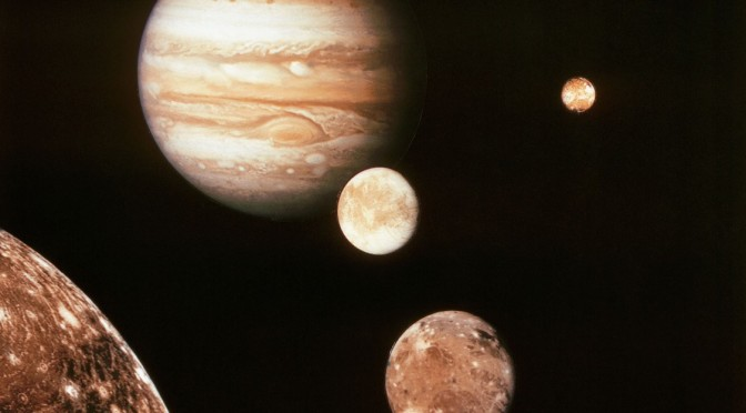 NASA's Hubble Space Telescope Finds First Evidence of Water Vapor on Jupiter's Moon Ganymede