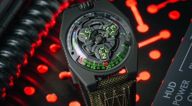 Collective Horology Creates Space Shuttle-Inspired URWERK