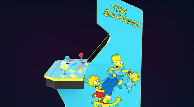 The Simpsons' gets a home arcade cabinet for its 30th birthday