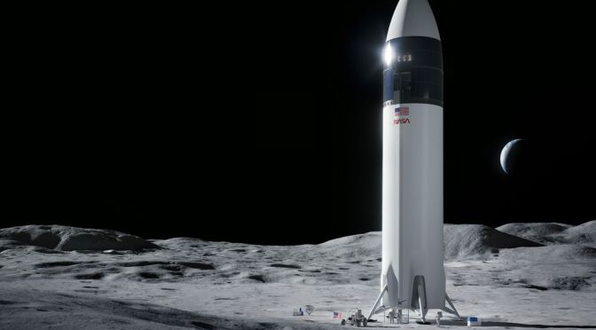 NASA Halts $2.9 Billion USD SpaceX Moon Mission Following Blue Origin Lawsuit