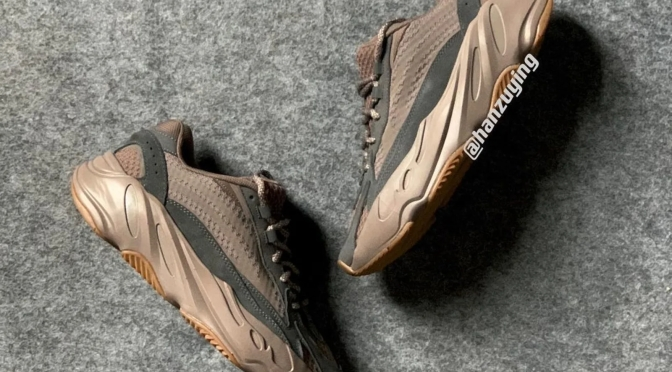 A Look at the 'Mauve' Adidas Yeezy Boost 700 V2