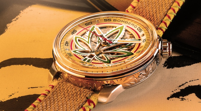 BOMBERG Presents First Ever Watch To Incorporate Hemp Leaves