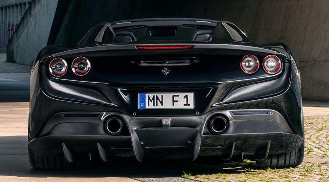 NOVITEC's Ferrari F8 Spider Is Big on Carbon Fiber and Power