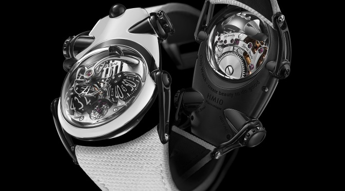 MB&F: The HM10 Panda For Only Watch Comes Out Of The Jungle