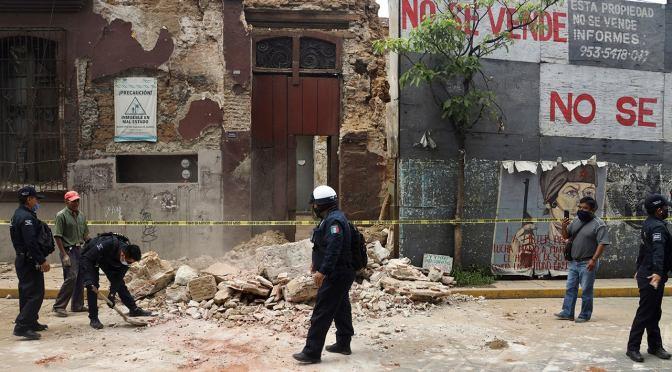 Powerful quake shakes southwest Mexico, one dead