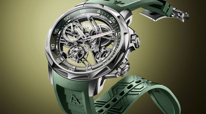 Angelus U53 Is the Titanium Flying Tourbillon You Can Take Diving